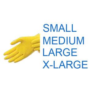 Yellow Latex Glove